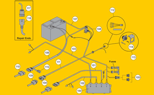 4PORTELECTRICAL fisher snow plow homesteader electrical fisher wiring diagram at creativeand.co