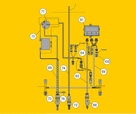 fisherrdhdxelec fisher snow plow ez v electrical fisher ez v plow wiring diagram at bayanpartner.co