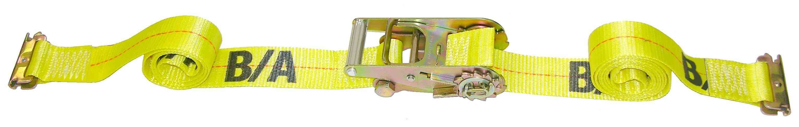 2IN x 12FT E TRACK STRAP W/RATCHET 38-ETR-12