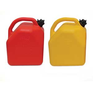 In The Ditch 5 Gal C.A.R.B Compliant Plastic Gas Can ITD7041