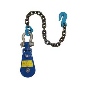 Yoke 4 Ton 4 5 Quot Snatch Block W Swivel Shackle Amp Chain