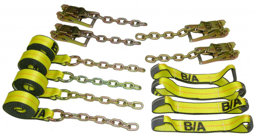 Rollback Tie Down System w/ Chain