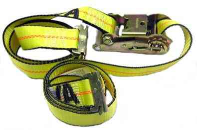 2IN x 10FT E TRACK STRAP W/RATCHET 38-ETR-10