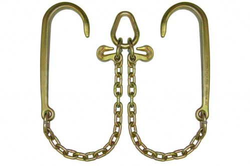 G70 V-CHAIN 15in J HOOKS - 3ft LEGS