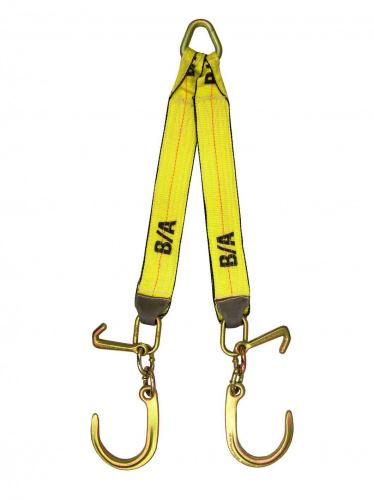 N711-8CJ V STRAP 8in J & MJ HOOKS 24in LEGS
