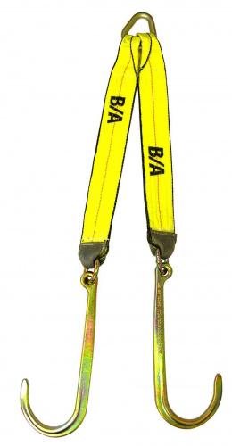 N711-8CL V STRAP 15in J HOOKS 24in LEGS