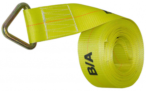 4IN x 40FT Tie Down Strap with 4in Delta Ring