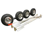 COLLINS Aluminum SLX Dolly w/4.80×8 Aluminum Wheels