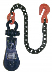 "4T.4.5"" SHACKLE BLOCK W/CHAIN 6I-4TSW30"