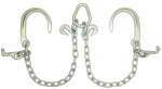 V-CHAIN BRIDLE J HOOKS FOR CAR CARRIERS