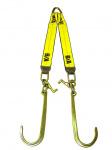 N711-8CLT V STRAP 15in J & T HOOKS 24in LEGS