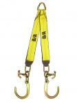 N711-8FCH V STRAP 8in J Hooks & HAMMERHEAD 24in LEGS