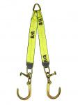 N711-8FCT V STRAP 8in J HOOKS & T HOOKS 24in LEGS