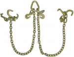 G70 V-CHAIN R,T,MD HOOK CLUSTERS-3FT LEGS