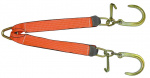 TOWERS EDGE V STRAP 8in J HOOK & MINI J HOOKS 24in LEGS