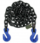 G100 5/8in 20ft CHAIN w/CRADLE GRAB HOOKS