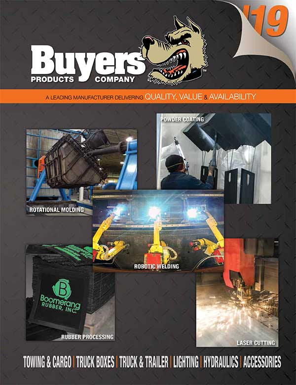 BUYERS PRODUCTS CATALOG 2017