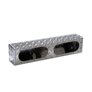 LIGHT BOX DUAL OVAL ALUMINUM .063 LB3163ALDT