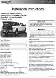 SHPE2250 Parts