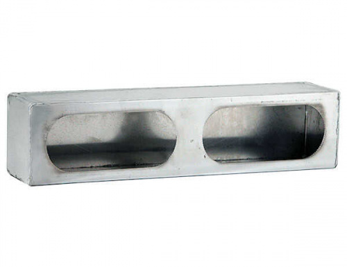 LIGHT BOX DUAL OVAL STAINLESS STEEL LB3163SST