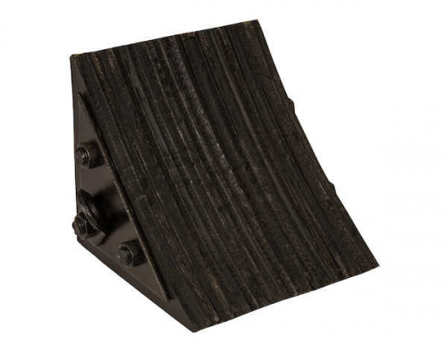 WC0888 Wheel Chock Laminated Rubber