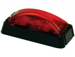LIGHT MARKER 3 LED RED 2.5in RECT 5622103