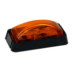 LIGHT MARKER 3 LED AMBER 2.5in RECT