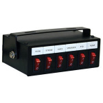 PRE-WIRED SWITCH BOX 6-FUNCTION