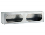 LIGHT BOX DUAL OVAL STAINLESS STEEL
