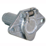 Trailer Connector Truck End Metal 6-Pin RD