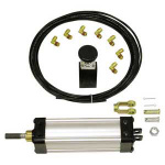 Pneumatic Cylinder Tailgate Kit Extruded AL TGC25008VSPK