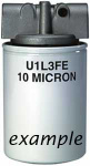 FILTER ASSEMBLY 10 MICRON 15 PSI BYPASS HFA11015