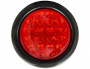 4in ROUND STT 18 LED LIGHT RED W/GOMMET                    1
