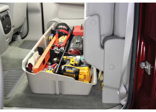 DU-HA 10038 BEHIND SEAT STORAGE BLACK