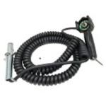 Pistol Grip Toggle Remote w/Retractile Cord and Plug BPL2794