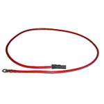 63in Red Cable and Plug