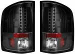 RECON TAIL LIGHTS 264175BK