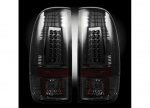 RECON TAIL LIGHTS 264176BK