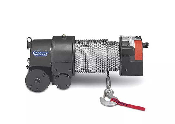Ramsey Electric Worm Gear Winch
