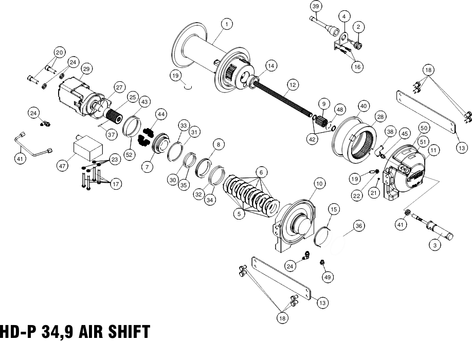 Air Shift Diagram Ramsey HD-P