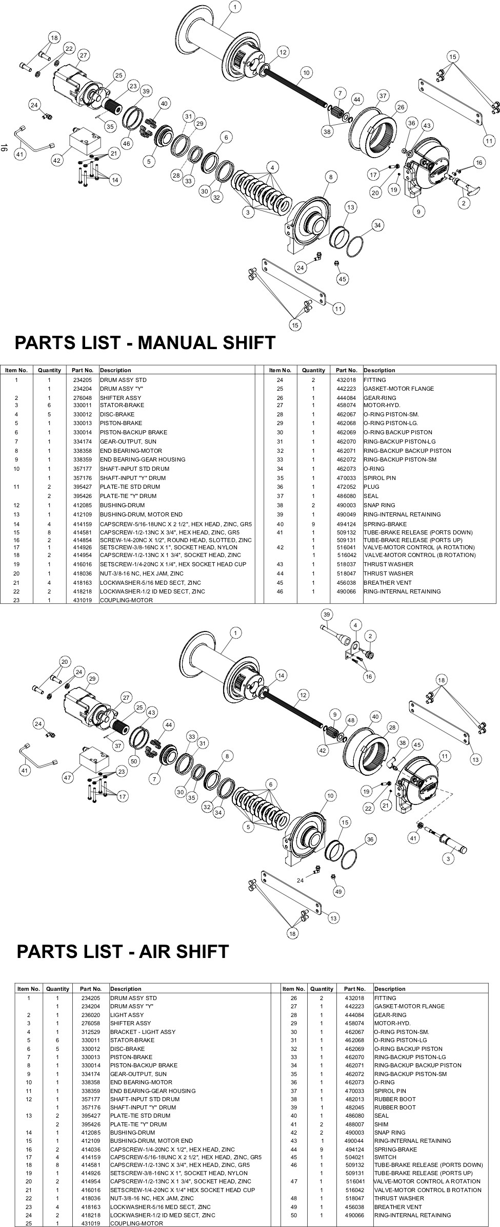 Ramsey Winch HDP 8,000 Parts Diagram