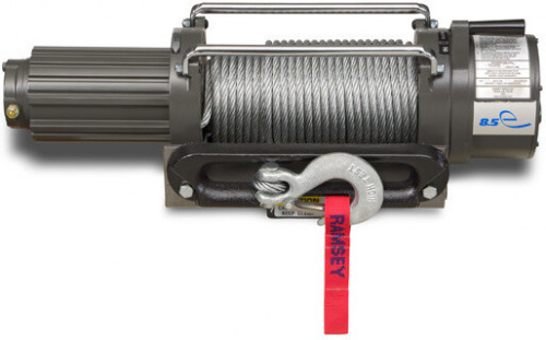 Ramsey Winch - REP 8.5e, R, 12V, with 12 ft. wire pendant on