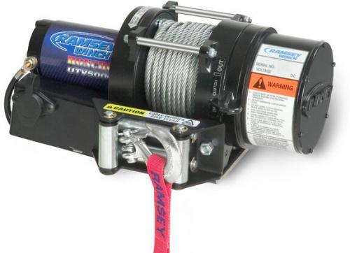 Ramsey Winch - UTV 5000 R, 12V, TOGGLE SWITCH REMOTE SOLENOID