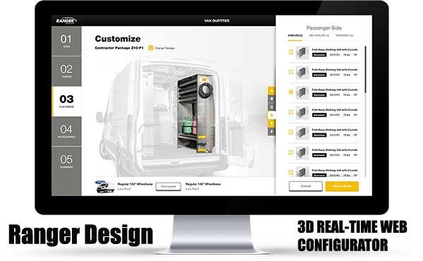 Ranger Design Online Configurator