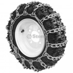 2 Link Tire Chain  4x4.80-8 Deep Lug Tread