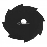"Steel Brushcutter Blade / 8"" x 8 Tooth"