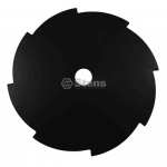 "Steel Brushcutter Blade / 9"" x 8 Tooth"
