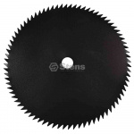 "Steel Brushcutter Blade / 9"" x 80 Tooth"