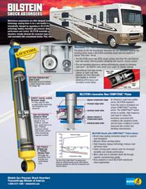 BILSTEIN MOTORHOME SHOCK ABSORBER SELECTION GUIDE