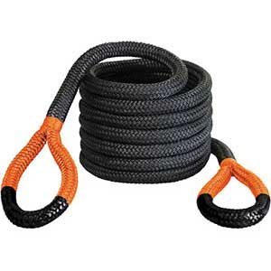 BIG BUBBA ROPE TOW ROPE 1-1/4IN X 30FT 176720ORG